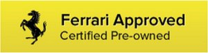 Ferrari Approved: Certified Pre-Owned