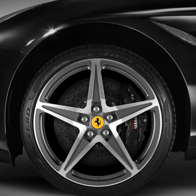 HGTE Style, Dark Grey - Installed for $12,150 at Ferrari of Denver. Part Number: 70001727.  If you have any questions on Genuine Ferrari Parts for your Ferrari start a chat, email or call our expert Parts Department at +1-303-996-7393.